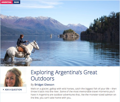 Exploring Argentina's Great Outdoors