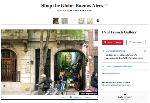 Shop the Globe Slideshow