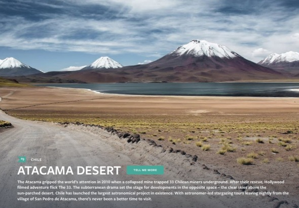 Atacama- Best in Travel 2015