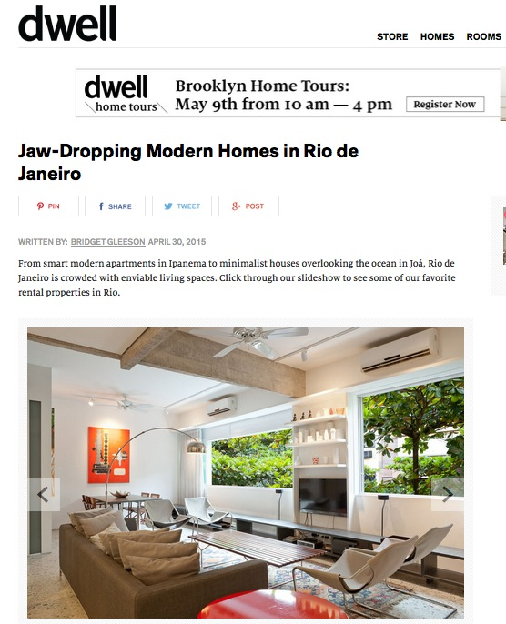 Modern design in Rio