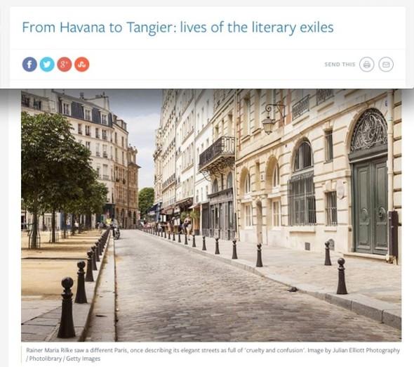 literary exiles