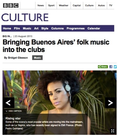 BBC Culture: Big In Buenos Aires