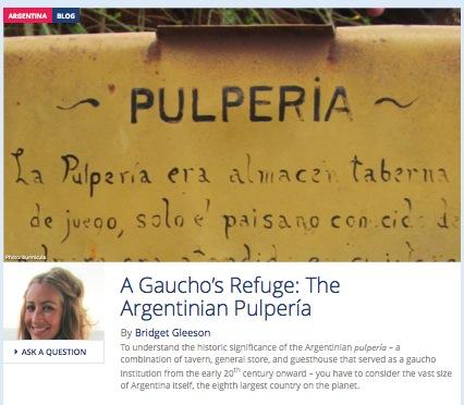 A Gaucho's Refuge