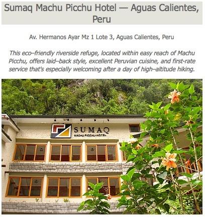 Sumaq Machu Picchu