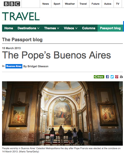 The Pope's Buenos Aires