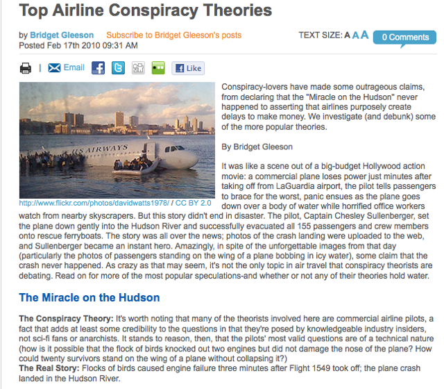 Airline Theories