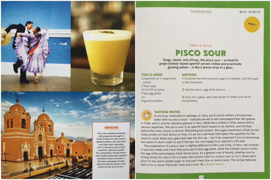 pisco sour - World's Best Drinks