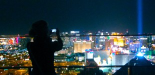Thirty days in Sin City