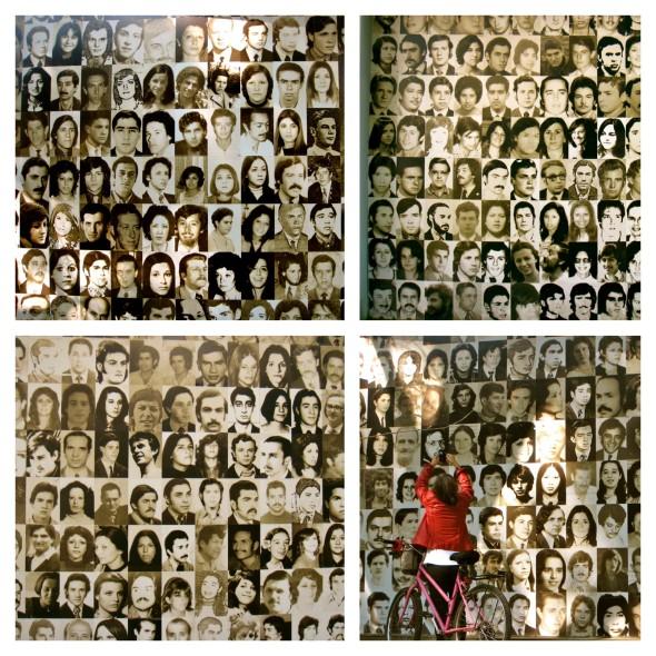 Desaparecidos walls