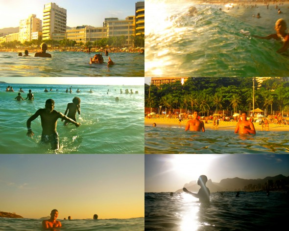 swimming in Rio