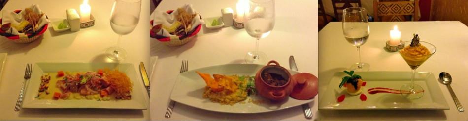 Dinner at Sumaq