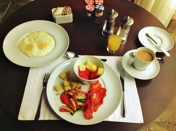 Breakfast in Cusco