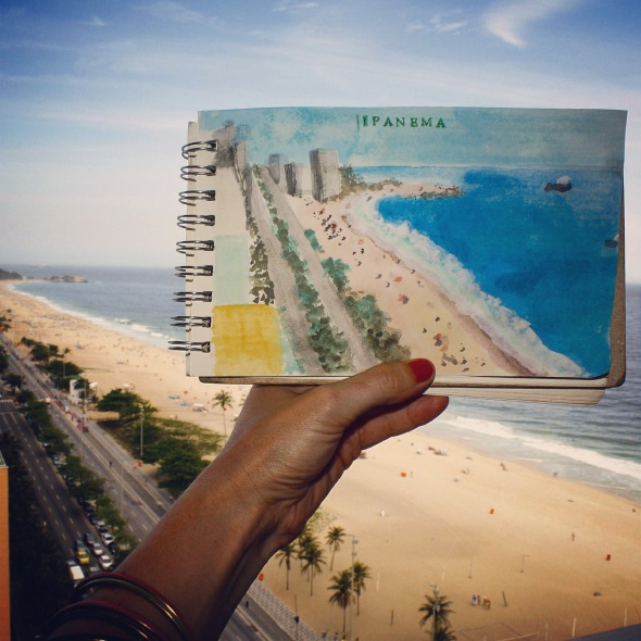 Ipanema watercolor