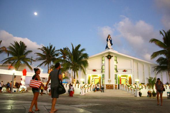 Isla Mujeres plaza