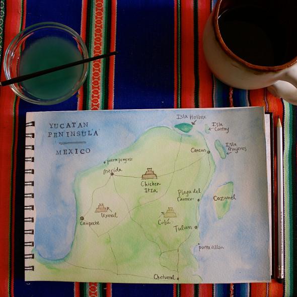 Map- Yucatan
