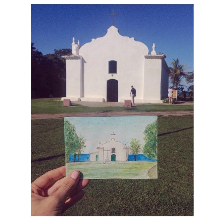 Trancoso postcard